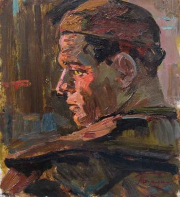 Sold Works: Aleksei Borodin - Iron Worker