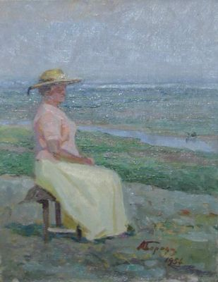 Aleksei Borodin - Sitting by the Sea