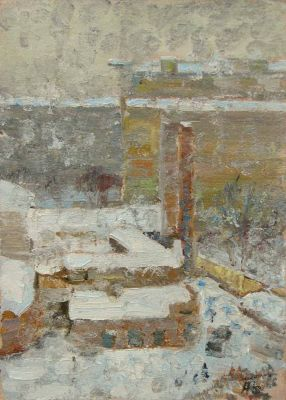 Sold Works: Aleksei Borodin - Volgograd in Winter