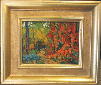 Sold Works: Evgeni Chuikov - Autumn Path