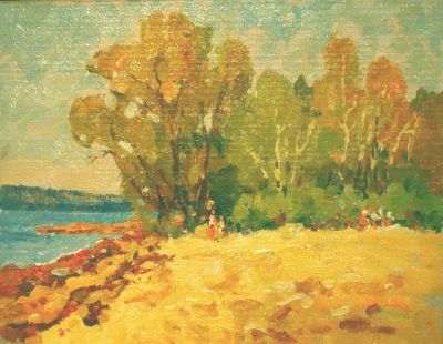 Sold Works: Evgeni Chuikov - On the Shore