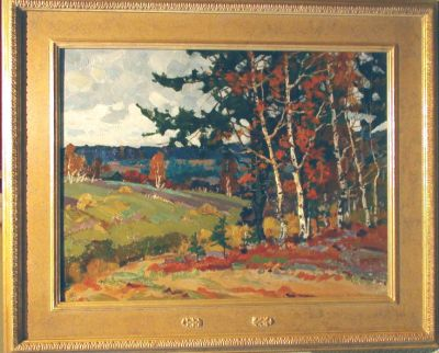 Sold Works: Evgeni Chuikov - Autumn Day