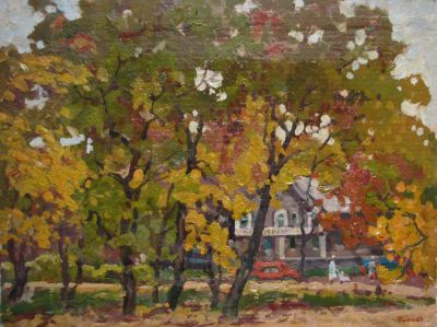 Sold Works: Evgeni Chuikov - Country Residence
