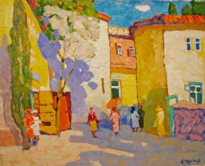 Sold Works: Evgeni Chuikov - Crimea