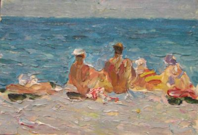Sold Works: Vasili Gurin - At the Sea