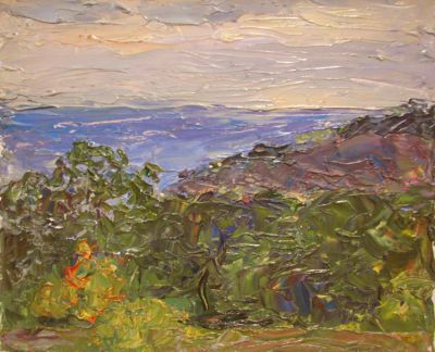 Sold Works: Vasili Gurin - View of the Sea