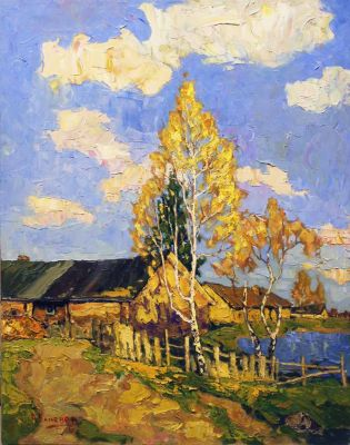 Aleksei Kamenev - Golden Autumn