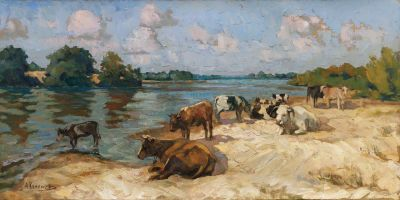 Aleksei Kamenev - At the Watering Hole