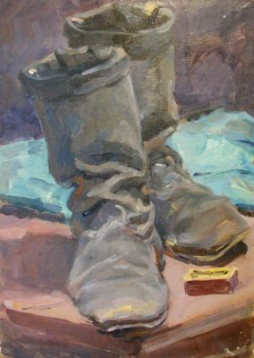 Sold Works: Viktor Letyanin - Boots