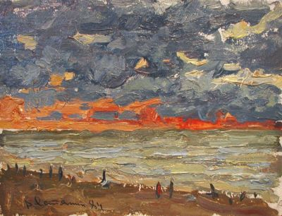 Sold Works: Viktor Letyanin - Sunset