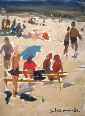 Laimodot Murniek - Day at the Beach