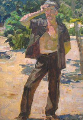 Sold Works: Aleksei Borodin - Worker in the Sun
