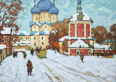 Evgeni Chuikov - Winter in Suzdal
