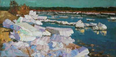 Aleksei Kamenev - Ice on the Shore
