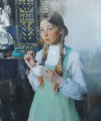 Tsirkulenko-Suvorov - Green Dress