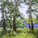 Gennadi Kirichenko - Aspens Near the River