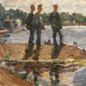 Viktor Letyanin - Boys at the Lake