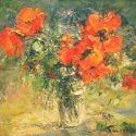 Tuman Zhumabaev - Red Poppies