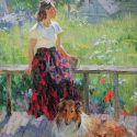 Aleksandr Tokareva - Afternoon at the Dacha