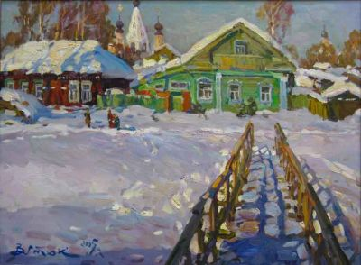 Select Sold Works: Ivan Vityuk - A Frost and the Sun, Wonderful Day