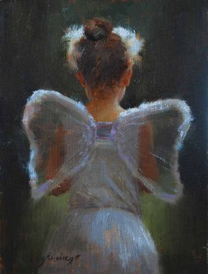 Select Sold Works: Marci Oleszkiewicz - A Little Swan