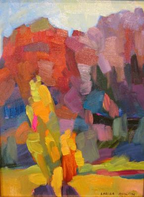 Select Sold Works: Larisa Aukon - Back Light