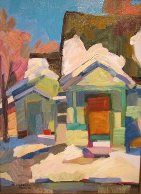 Select Sold Works: Larisa Aukon - Winter Melt
