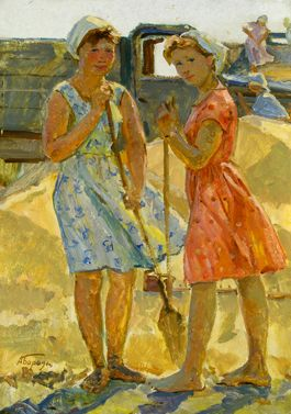 Sold Works: Aleksei Borodin - Girls