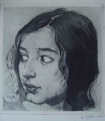Works on Paper - Girl