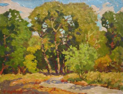 Sold Works: Evgeni Chuikov - A Small Road