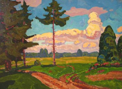 Sold Works: Evgeni Chuikov - Clear Day, 1978