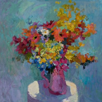 Select Sold Works: Larisa Aukon - Diva