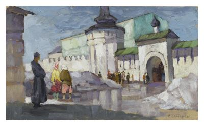 Aleksei Kamenev - At the Monastery, Vorot