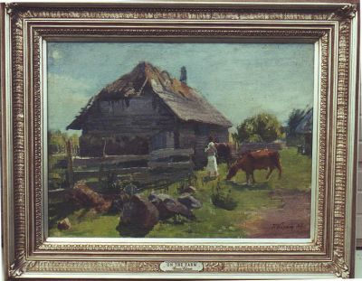 Sold Works: Ilmar Kimm - On the Farm