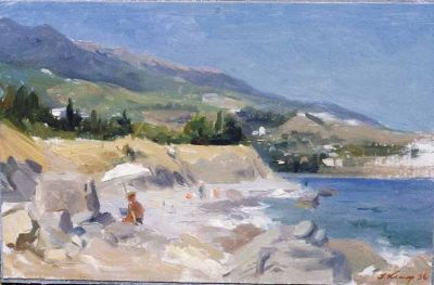 Sold Works: Ilmar Kimm - Crimean Beach