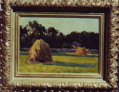 Sold Works: Ilmar Kimm - Haystacks