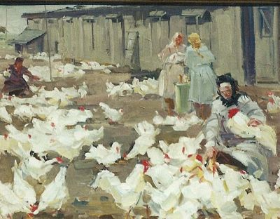 N. Kompaniyets - Inspecting the Chickens