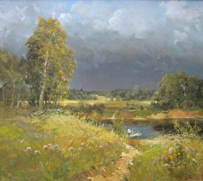 Select Sold Works: Alexander Kremer - Before the Storm