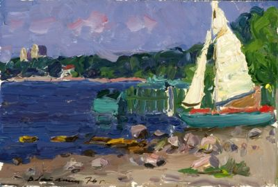 Sold Works: Viktor Letyanin - On the Shore