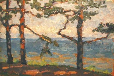 Sold Works: Viktor Letyanin - On the Shore of the Baltic Sea