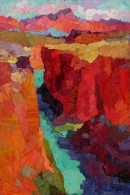 Select Sold Works: Larisa Aukon - Lee′s Ferry