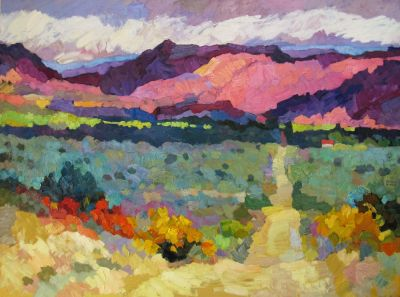 Select Sold Works: Larisa Aukon - Outlaw Trail