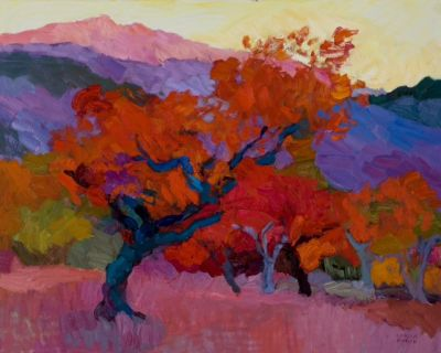 Select Sold Works: Larisa Aukon - Canyon Encounter