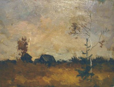 Vasily Martynov - Autumn Field