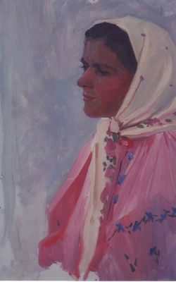 Sold Works: Vladimir Masik - Young Woman Study