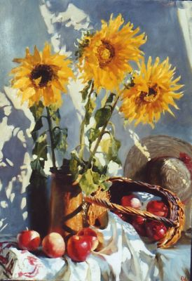 Select Sold Works: Ekaterina Morgun - Country Still Life