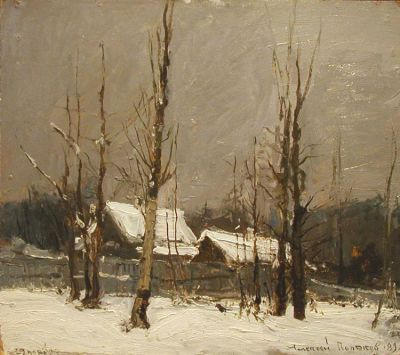 Aleksei Polyakov - First Day of Winter, 1989
