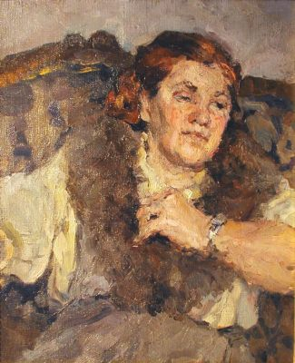 Valentina Saveleva - Woman on the Divan, 1965