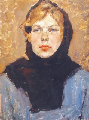 Valentina Saveleva - Woman in Blue