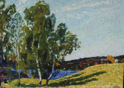 Sold Works: Nikolai Timkov - Afternoon Sun